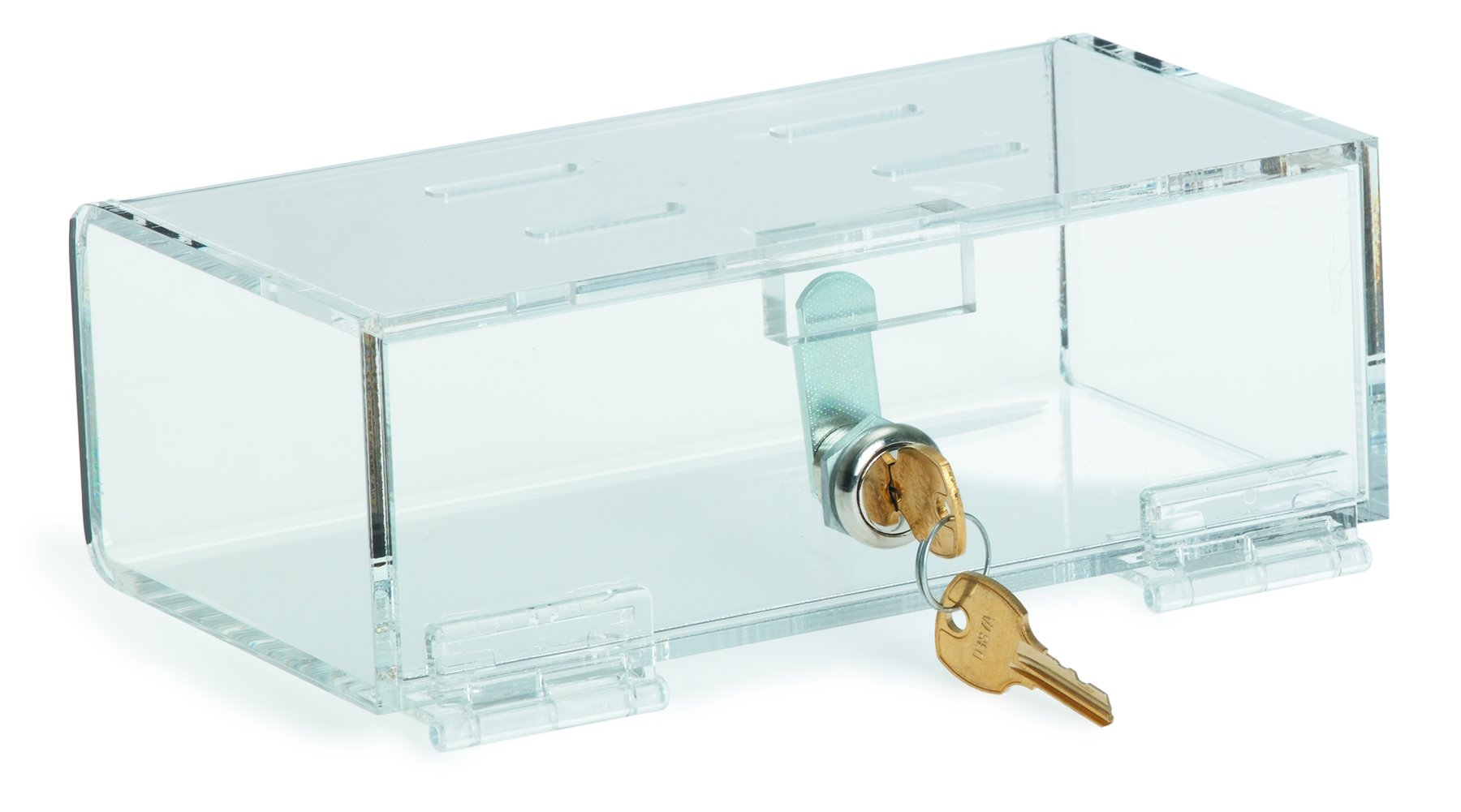 Acrylic Refrigerator Lock Box (2.75''H X 8.25''W X 4.5''D)
