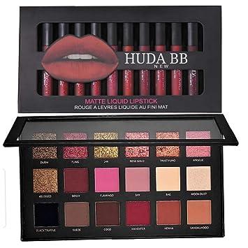 huda beauty matte lipstick palette