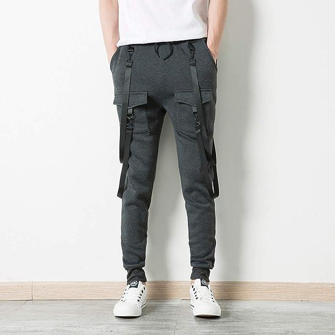 PU/&PU da Donna A Vita Medio-Alta Semplice Media Elasticit/à Jeans Pantaloni,Largo