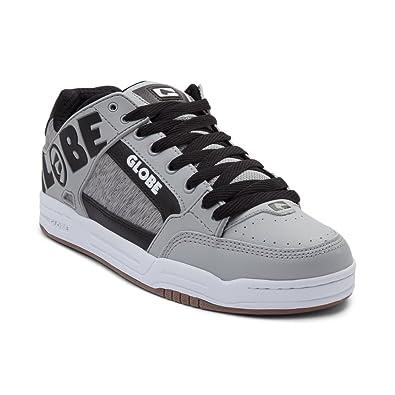 Globe Men's Tilt Skateboarding Shoe (Mens 7, Tilt Grey Black White 7332)