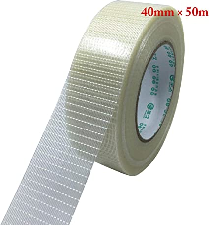 Filament Tape Glass Fibre Filament Tape with Glass Fibre Fabric Tape Transparent