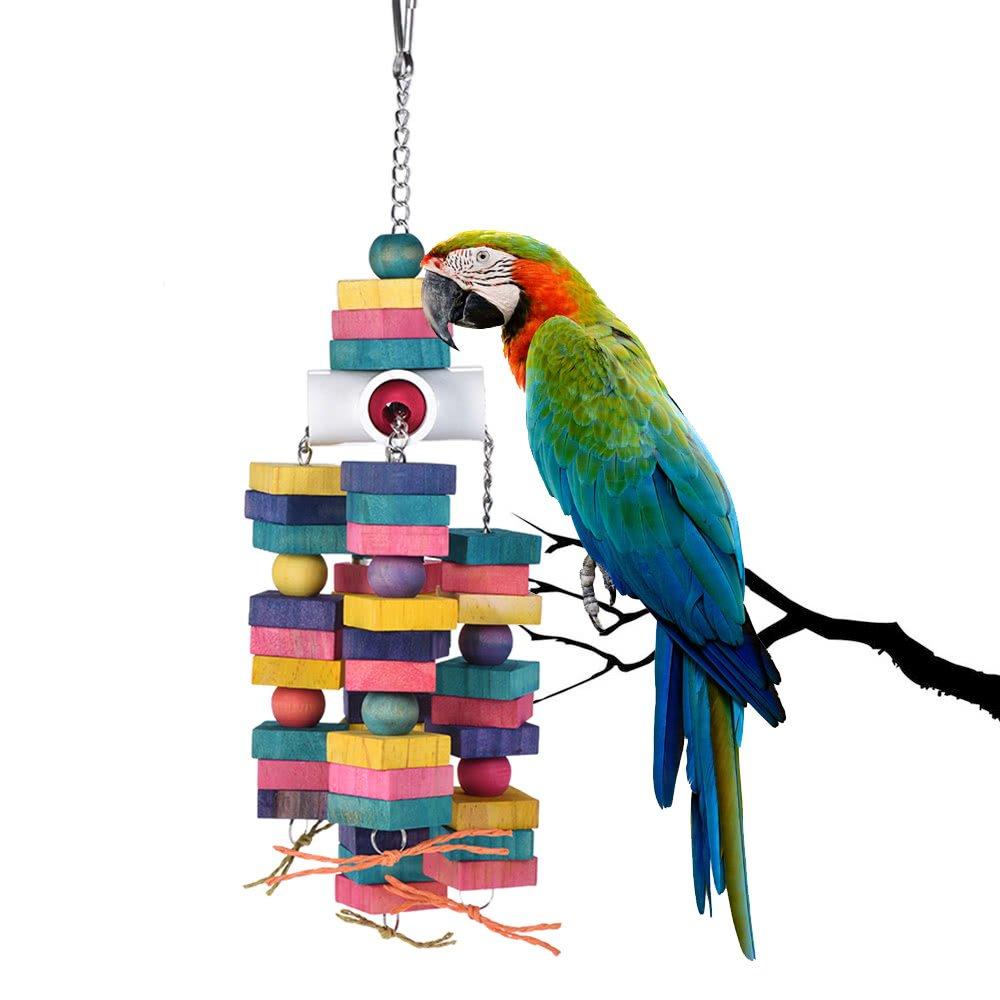 STAJOY Juguete de Masticar para pájaros Nudos de Jaula de Loro, de ...
