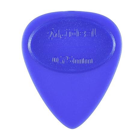 ammoon Plumillas de Guitarra 50pcs Selecciones de Celuloide Color Mezclado con Caja de Almacenamiento para Bajo Acústico Folklórico Guitarra Eléctrica ...