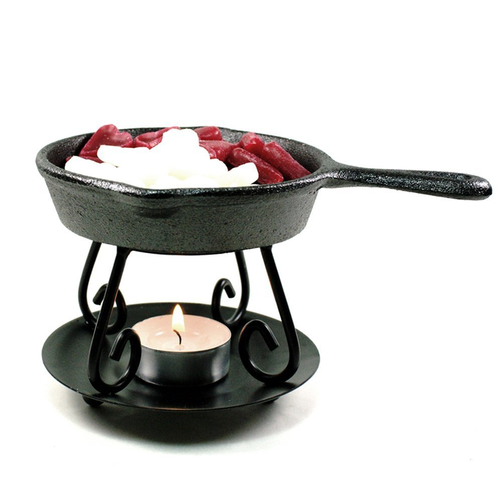 Cast Iron Skillet Wax Warmer and Trivet Bright Ideas CAT001
