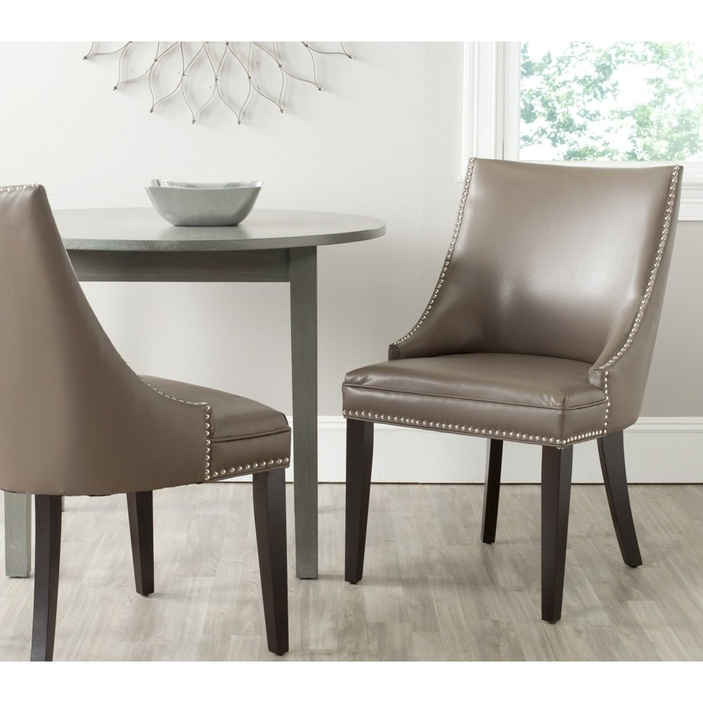 Amazon.com   Safavieh Mercer Collection Afton Side Chair, Clay, Set Of 2    Chairs