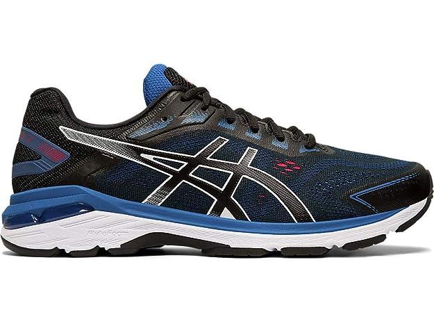 ASICS Men's GT-2000 7 Running Shoes, 7M, Black/Black