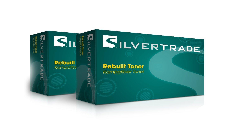 2x Toner compatible para Ricoh Type SP100LE 1.200 páginas negro - 1200 páginas - para Ricoh Aficio SP 100