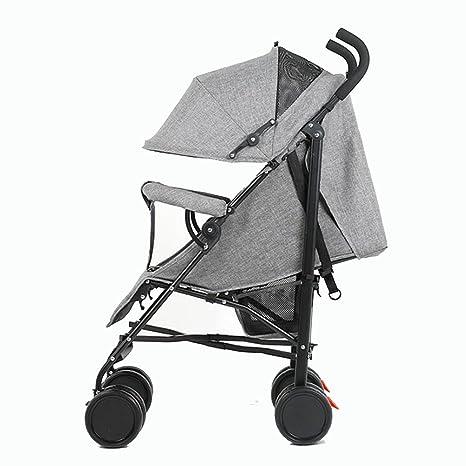 YXINY Carritos y sillas de paseo Cochecitos 1-3 Años De Edad Ultralight Alto Paisaje