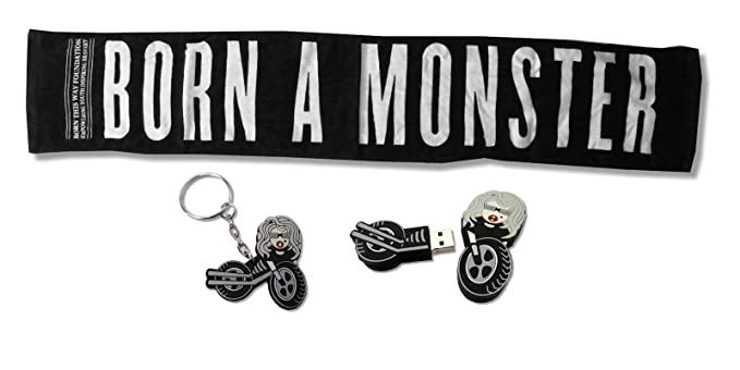 Amazon.com: Lady Gaga 3 piezas Monster toalla/USB Drive ...