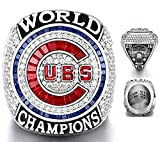 2016 CHICAGO CUBS WORLD SERIES RING REPLICA (ENGRAVED) SIZE 9 Bryant