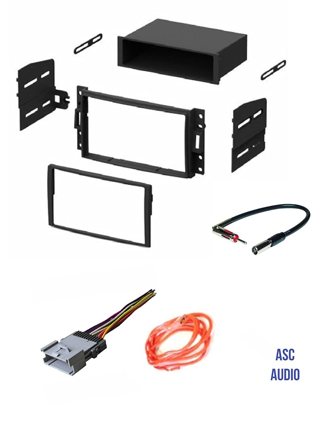 ASC GM510 Car Stereo Dash Kit and Antenna Adapter to Install an Aftermarket Radio for some GM Vehicles Wire Harness Important Compatible Vehicles and Restrictions Listed Below Other