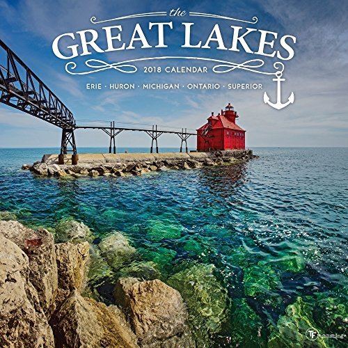 2018 Great Lakes Wall Calendar free shipping