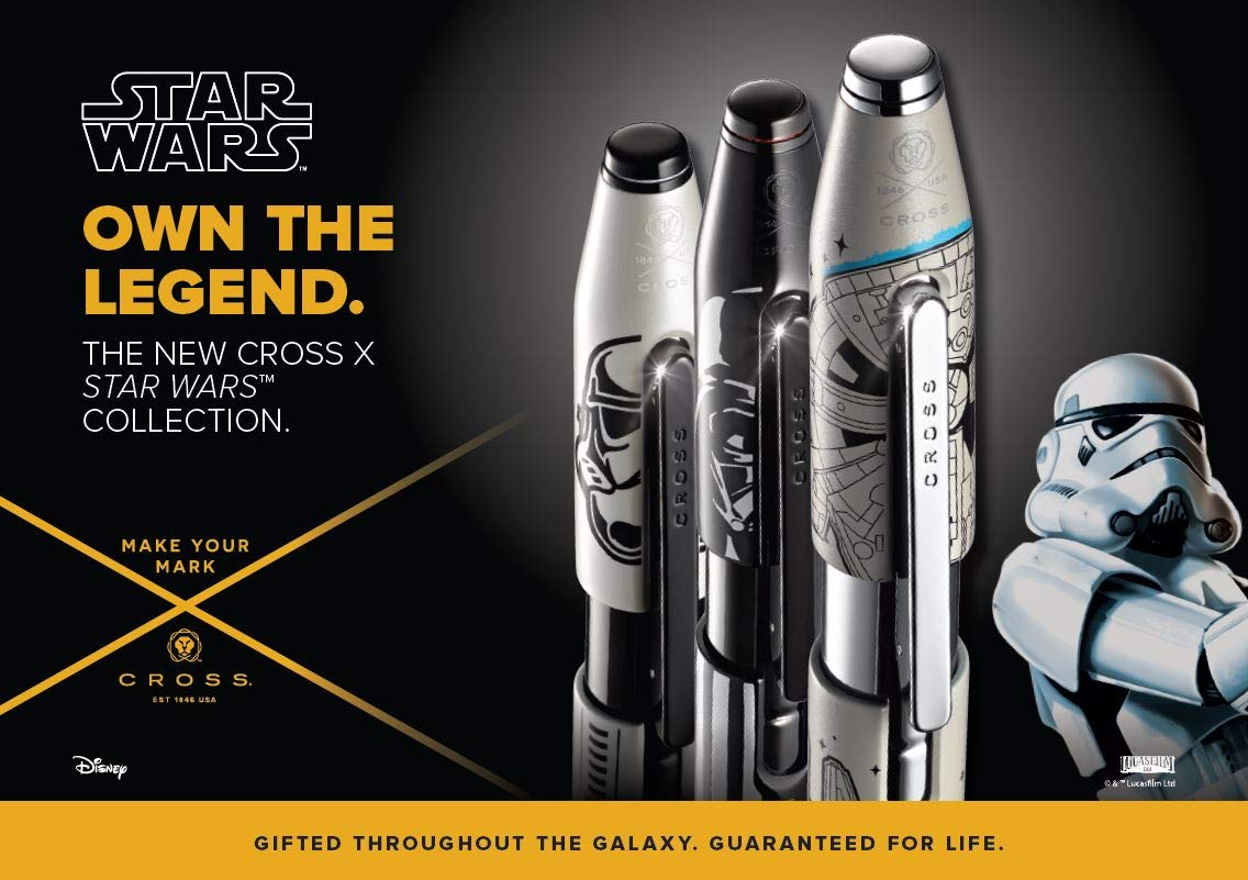Cross X Star Wars Millennium Falcon Rollerball Pen In Premium Gift Box (AT0725D-11) by Cross (Image #6)