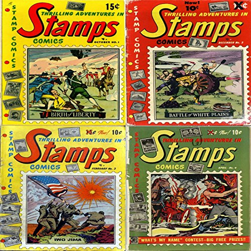 Stamps Issues 1, 2, 3 and 4. Thrilling adventures in. Features Birth of Liberty, Battle of white plains, Iwo Jima and more. Digital Sky Comic Compilations Action Adventure.