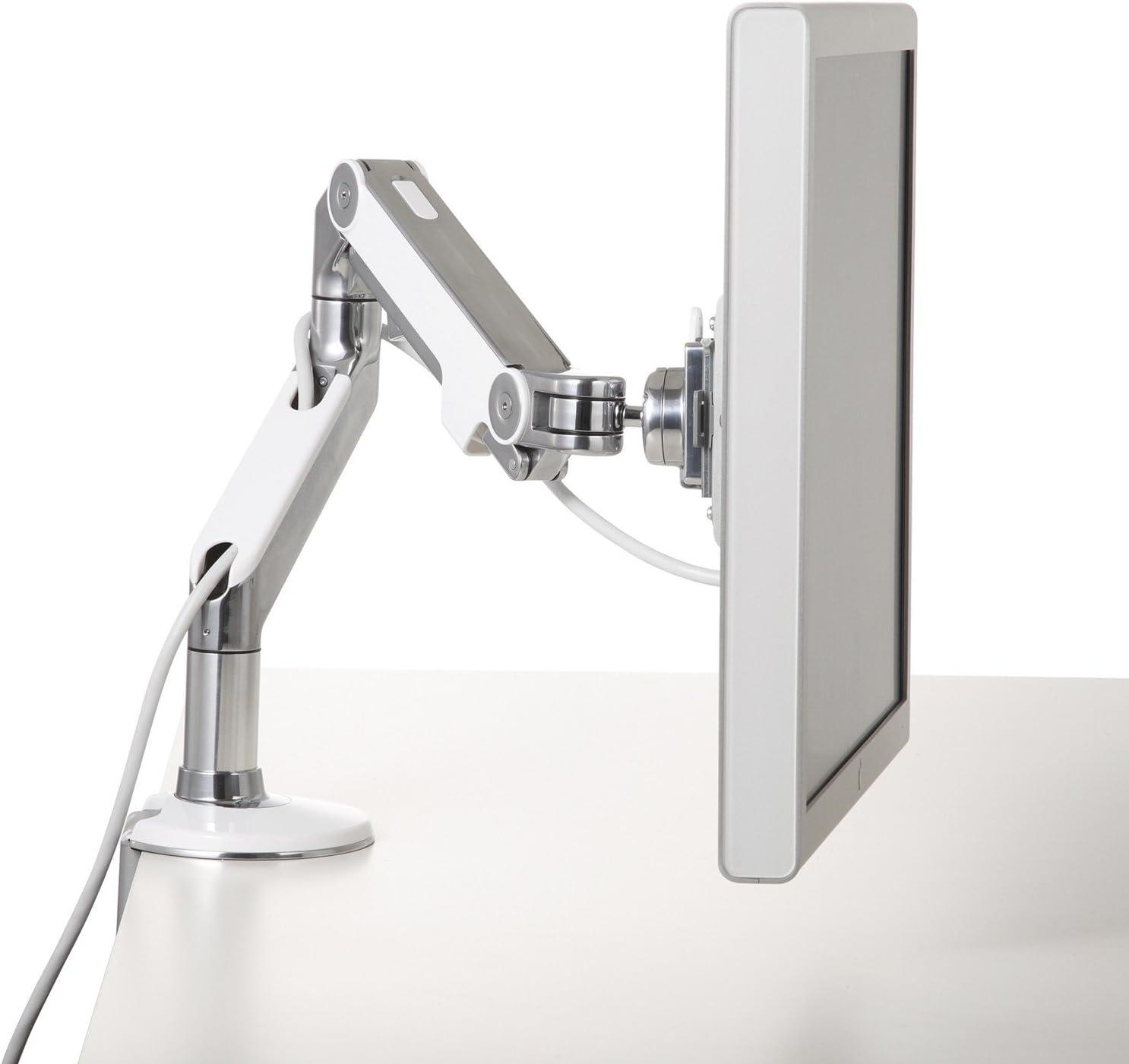 M8 Crossbar Monitor Arm Silver Monitor Arm (M8MS1C-NA-)