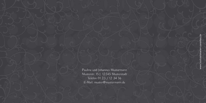 Kartenparadies Danksagung für Hochzeitsgeschenke Dankeskarte Für immer, immer, immer, hochwertige Danksagungskarte Hochzeitsglückwünsche inklusive Umschläge   20 Karten - (Format  215x105 mm) Farbe  MatschgruenDunkel B01MZCC83C   Die Qualität U d43e53