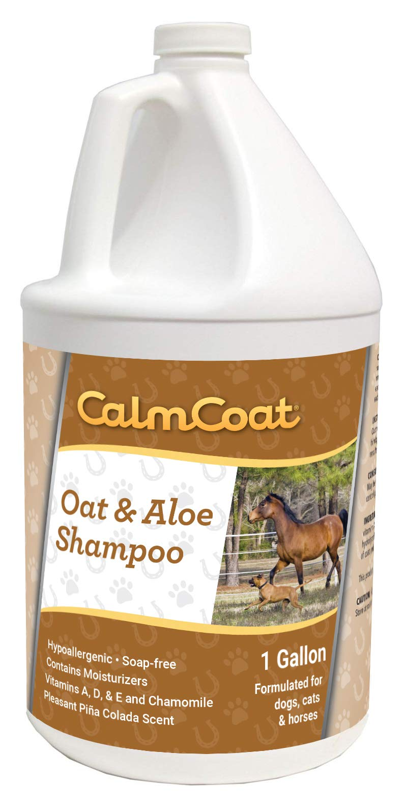 Calm Coat 7251 Oat & Aloe Shampoo, 1 Gallon by Calm Coat