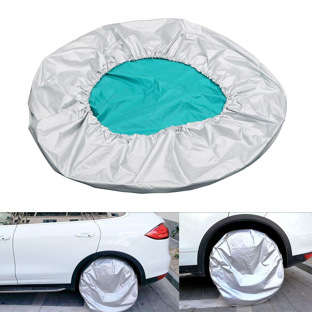 27'-29' Sun Shade Car Spare Tyre Cover Tire Protector Car-styling Adjustable Dust-proof Waterproof YWSZLDZ