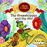 img - for The Grasshopper and the Ant: Aesop's Fables in Verses (Children's story picture books) book / textbook / text book