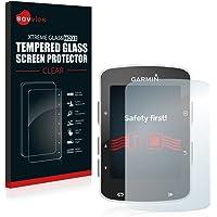 Savvies Vetro Temperato Compatibile con Garmin Edge 820 Pellicola Prottetiva - Durezza 9H