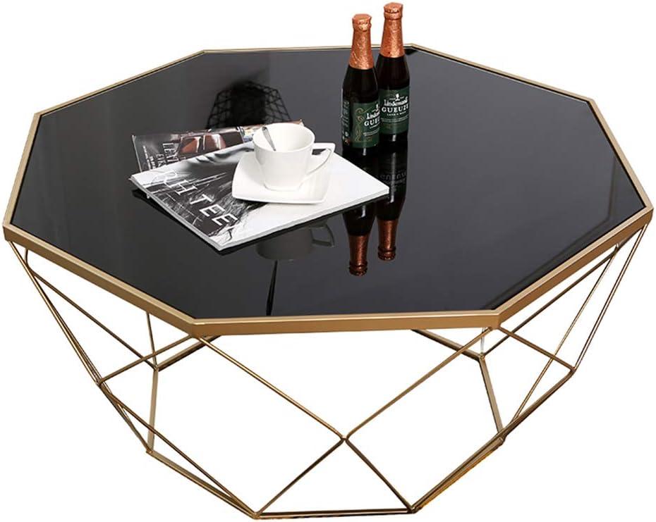 Amazon Com Dxjni Nordic Black Tempered Glass Coffee Table