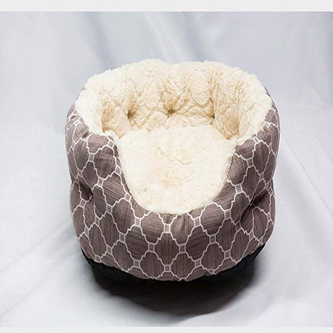 Amazon.com : Vivian Inc Beds & Furniture - Pet Dog Bed Soft Warm Dog Cat Litter Nest House Warm Soft Teddy Puppy Pet Cushion Products for Small Medium Dogs ...