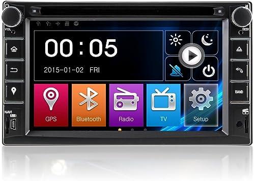 Coche reproductor de DVD GPS Radio estéreo sistema de navegación para nissan x-trail Pathfinder Qashqai Tiida Navara con Bluetooth/SD/USB/Radio/control del volante/av-in/libre mapa: Amazon.es: Electrónica