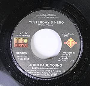 """John Paul Young - Love Is In The Air - [7""""]"""