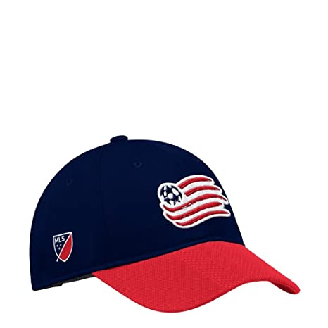 the latest cc33b 9577a Image Unavailable. Image not available for. Color  adidas New England  Revolution Hat Authentic Adjustable Slouch Cap