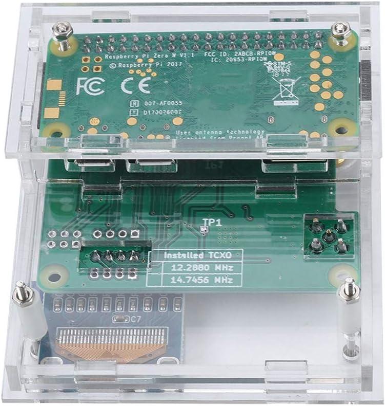 ABS Hotspot Module Antenna Case Kit with high Performance 32-bit ARM Processor for MMDVM Raspberry Pi DIY OLED Black Shell Bewinner Hotspot Module for MMDVM Raspberry Pi