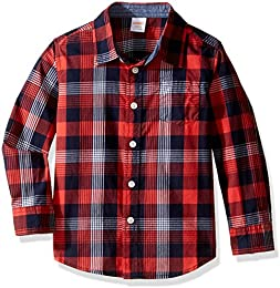 Amazon.com: Red - Button-Down &amp Dress Shirts / Clothing: Clothing ...