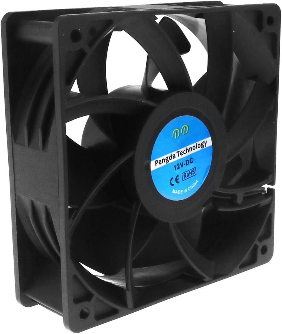 Creative-Idea Ventilador de refrigeración DC 2PIN rodamiento Bola ...