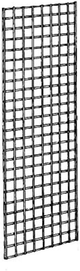 Econoco Commercial Grid Panels, 2 Width x 5 Height, Black Pack of 3
