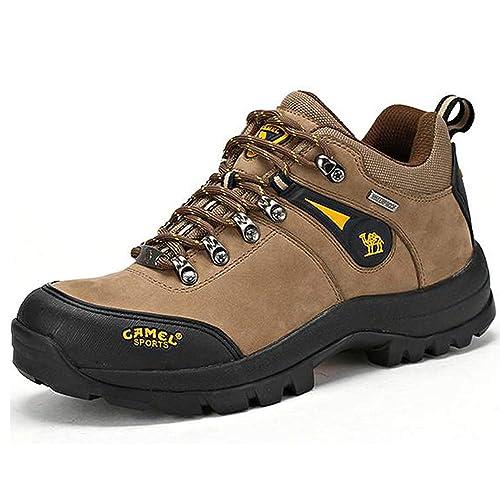 Camel Zapatos de senderismo para Hombre al AIRE Libre Trekking Low-Top  Profesional antideslizante Zapatillas 9d84880b039