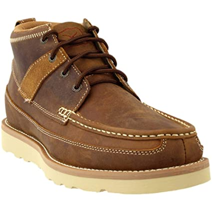 1e7616d67c86 Amazon.com   Twisted X Mens Casual Wedge Crepe Sole Boot   Sports ...