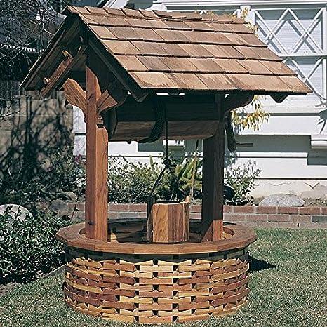 Woodworking Project Plan de papel para construir el pozo de los deseos