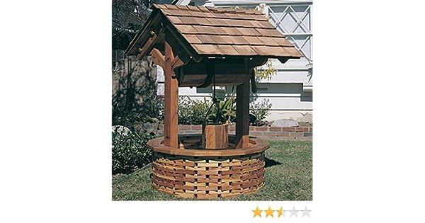 Woodworking Project Plan de papel para construir el pozo de los ...