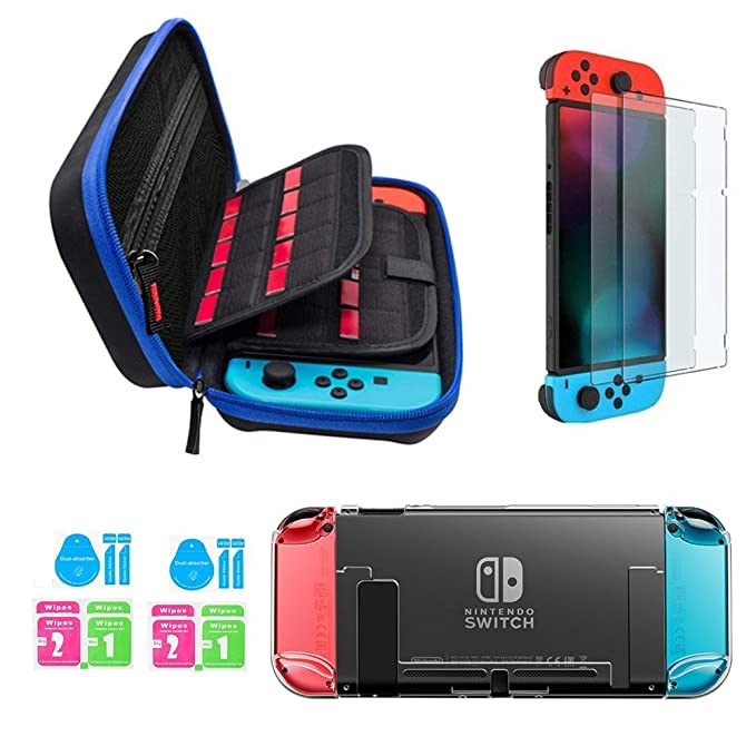 104 opinioni per Jusoney Kit Accessori per Nintendo Switch- Custodia Nintendo Switch con 20