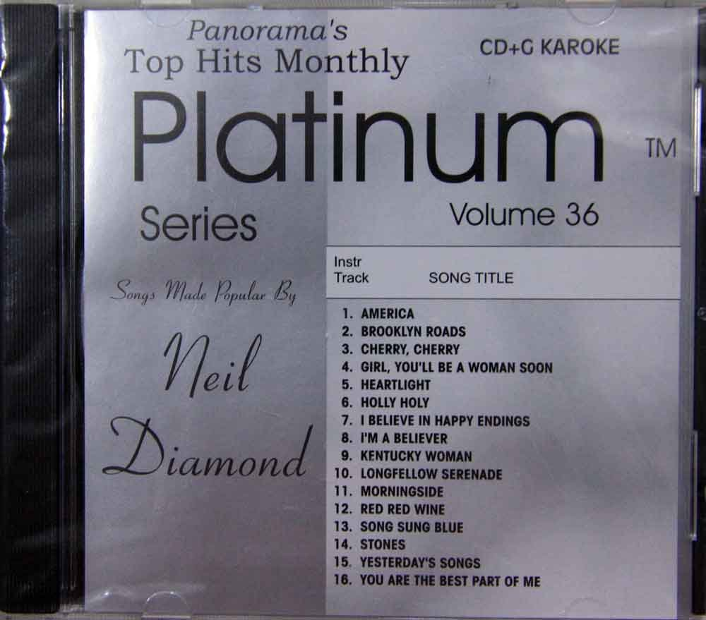 Top Hits Monthly Karaoke: The Hits of Neil Diamond