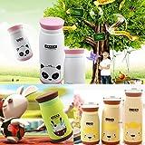 Shop24Hrs 260mL Cartoon Animal Vacuum Flasks Stainless Steel Travel Mug Tea Water Bottle Cup Elephant Cartoon