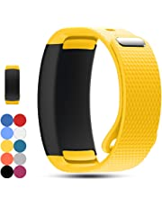 Feskio Accessory Soft Silicone Wristband Strap Sport Band Bracelet for Samsung Gear Fit 2 Pro/SM-R360 Smartwatch