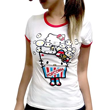 7fc9c7005 Image Unavailable. Image not available for. Color: Tokidoki x Hello Kitty  Tee: Popcorn