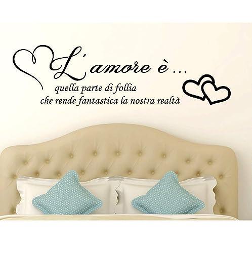 frasi amore Adesivi murali frasi in italiano Amore Adesivo Murale Wall  frasi amore