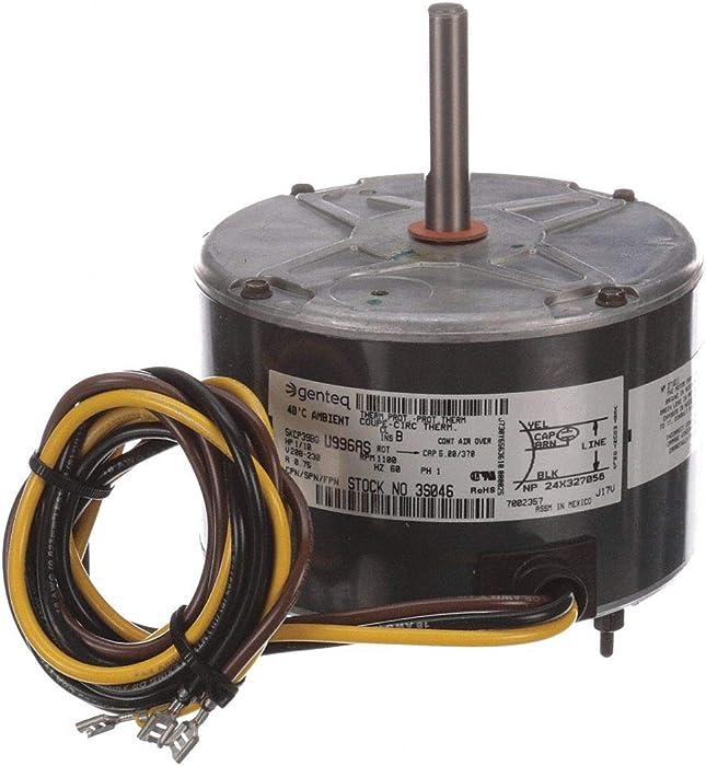 3S046 - Genteq Replacement Condenser Fan Motor 1/10 HP 208-230 Volt