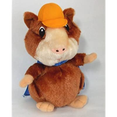 "Fisher Price Wonder Pets Linny Hamster Blue Cape Plush 9"" Tall: Toys & Games"