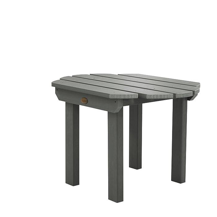 highwood AD-TBL-CW1-CGE Classic Westport Side Table, Coastal Teak
