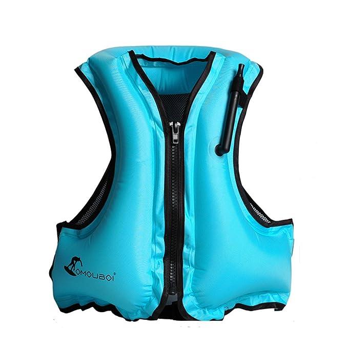 Hony Adulto Nadar Flotador Ajustable Traje de Traje de Baño Niños Inflable Ropa de Natación Traje de Surf para Niñas Chicos,Naranja Azul Verde Rosado: ...