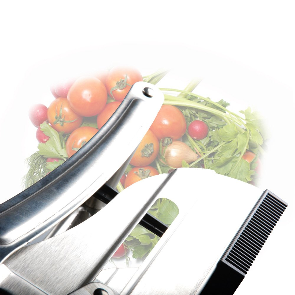 TOPCHANCES Stainless Steel French Fry Cutter Potato Slicer