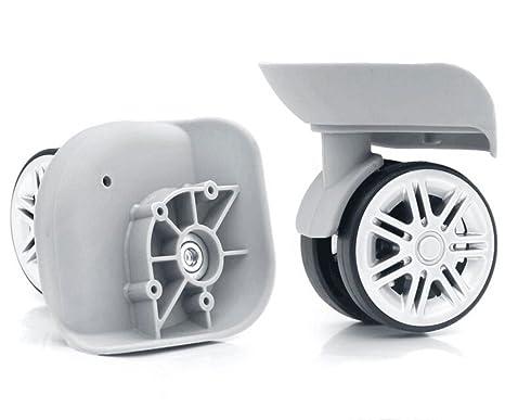 bafc28039987 Amazon.com : 2pcs /set High-grade Gray Mute Connected wheels for ...