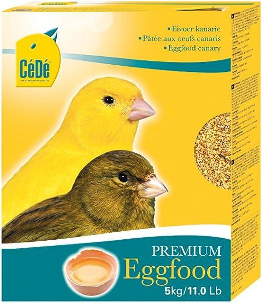 Cede - Eggfood Canary Seco, 5kg,